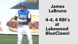 Shore Regional 12 Ranney 2 | HS Baseball in Lakewood | James LaBruno 4-4, 4 RBI's
