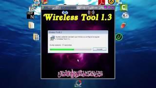 Wireless Tool 1 3 تثبيت درايفر الويفي لجميع الحواسيب  بدون انترنت
