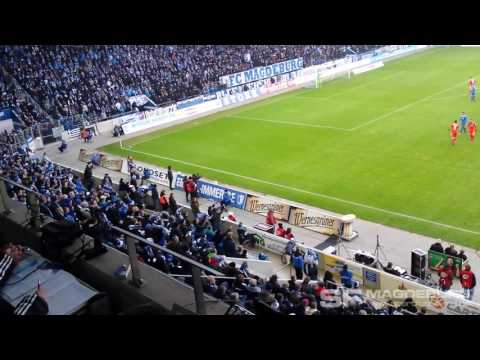 1. FC Magdeburg gegen Hallesch…