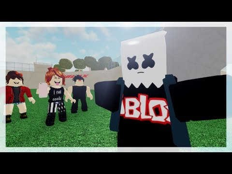 ROBLOX BULLY STORY - Alone - Marshmello - Part 3