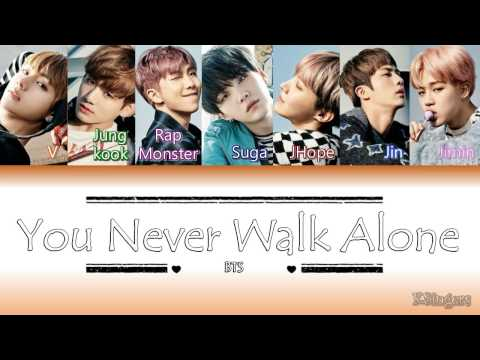 BTS - A Supplementary Story: You Never Walk Alone | Sub (Han - Rom - Español) Color Coded Letra
