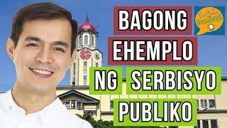 MAYOR ISKO MORENO - BAGONG EHEMPLO NG SERBISYO PUBLIKO
