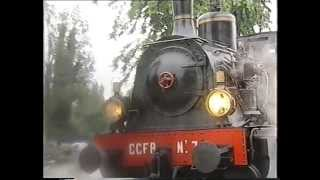 preview picture of video 'La locomotiva a vapore CCFR n°7 (1907) - ACT Reggio Emilia'