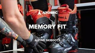 Видео: горнолыжные ботинки Atomic с технологией Memory Fit