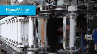 PRT2 Führungssystem in der Flaschenproduktion