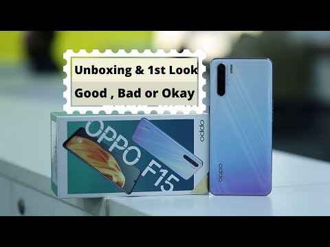 Oppo F15 - Unboxing and 1st Impression