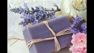 How To Make A Homemade Lavender Soap, Method  Easy And Economical, Watch This Video And Try It