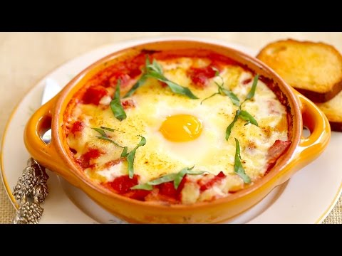 Italian Baked Eggs  – Gemma's Bold Baking Breakfast Recipes Episode 3