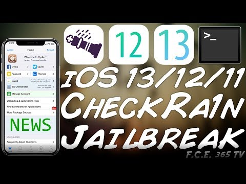 iOS 13 / iOS 12 CheckRa1n JAILBREAK / CheckM8 CFW IMPORTANT News & Answers + IMG4Tool