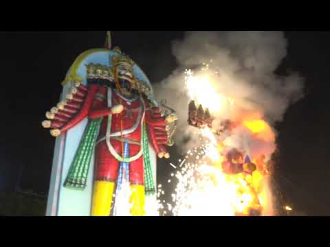 मुख्यमंत्री राजधानी के रावणभाठा दशहरा उत्सव में हुए शामिल : 15-10-2021