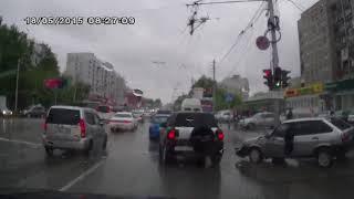 ДТП Новосибирск в дождь