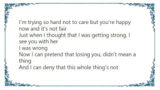 Christina Milian - It Hurts When Lyrics