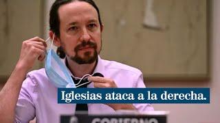 """Iglesias acusa a la derecha de """"pretender influir"""" en los poderes del Estado para gobernar"""