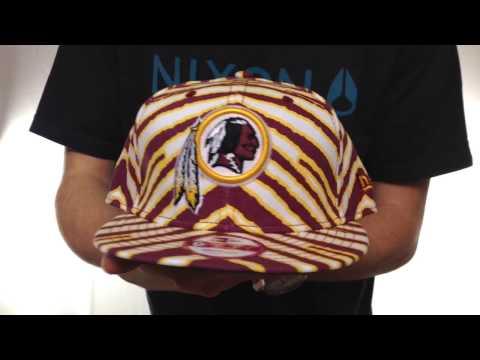Redskins 'NFL ALL-OVER ZUBAZ SNAPBACK' Hat by New Era