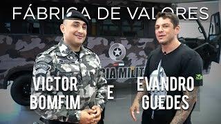 """""""Quem salva uma vida, SALVA O MUNDO!"""" - Capitão Bomfim e Evandro Guedes - Fábrica de Valores"""