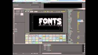 Locating Free Fonts in Premiere Pro: CUSTOM TEXT NOT STYLES