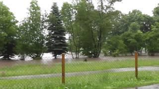 preview picture of video 'Hochwasser Neisse 2013'