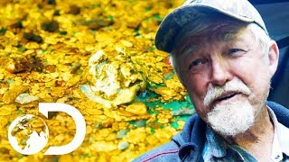 The Crew Finds A Nugget Trap Full Of Gold!   Gold Rush: White Water