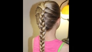 HOW TO DO A FRENCH BRAID! 