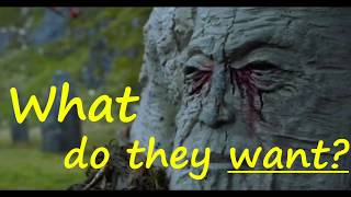 What do the Weirwood trees want?