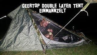 GEERTOP Double Layer Tent  Einmannzelt ⛺