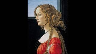 Botticelli's Muse Simonetta Vespucci