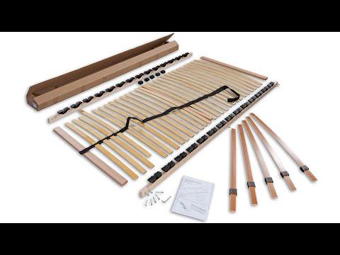 Montagevideo für Betten-ABC Lattenrost zur Selbstmontage
