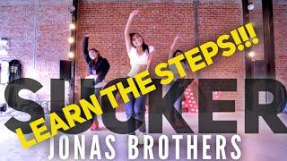 """Sucker""Dance Tutorial | @jonasbrothers | @GuyGroove Choreography"