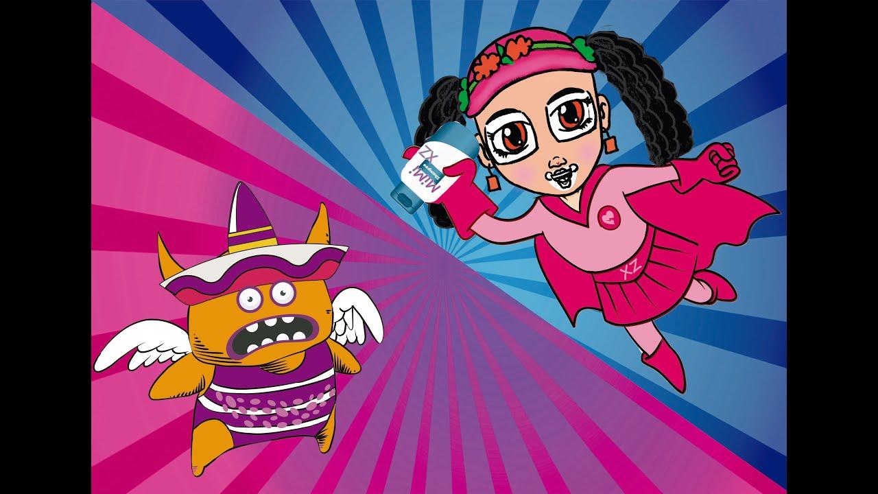 Mimi XZ- El Piojo Juancho ( bumbareo, bumbareo, bumbareo)  Canción Infantil.
