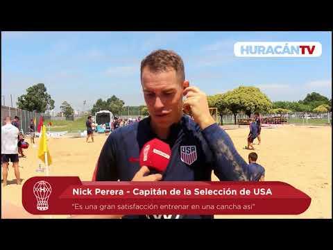 La Selección de USA entrenó en La Quemita