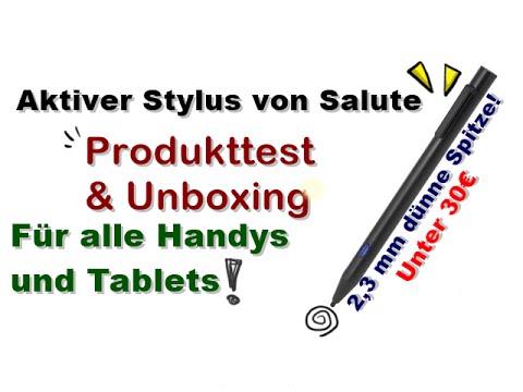[Produkttest] Günstiger und dünner Stylus für alle Touchscreens!