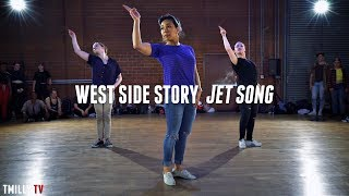 West Side Story - Jet Song - Dance Choreography by Galen Hooks ft Sean Lew, Devin Jamieson #TMillyTV