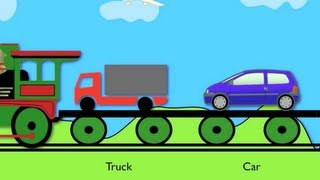 Vehicle Train - Learning for kids