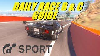GT Sport Daily Race B & C Track Guide GR.3 Bathurst & GR.4 Dragon Trail Reverse