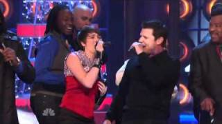 The Sing-Off - Nick Lachey & All Choruses - What Christmas Means To Me