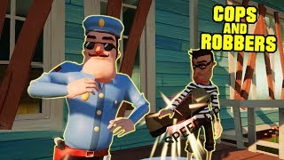 HELLO NEIGHBOR COPS AND ROBBERS UPDATE | Hello Neighbor Mod