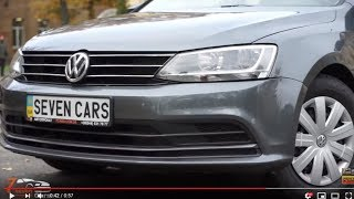Осмотр Volkswagen Jetta 2,0 FSI - аренда авто в Киеве. 7cars.com.ua