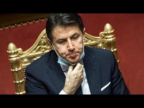 Πολιτική κρίση στην Ιταλία: Υπό παραίτηση ο Τζουζέπε Κόντε – Μεταβαίνει στο Κυρηνάλιο…