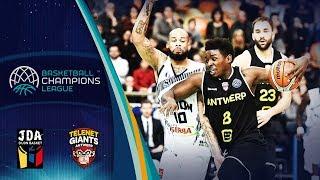 LIVE 🔴 -  JDA Dijon v Telenet Giants Antwerp - Basketball Champions League 2018-19