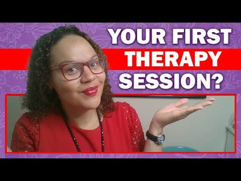 What happens in your first therapy session