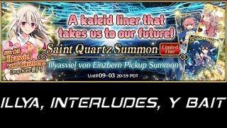 Illyasviel von Einzbern  - (Fate/Grand Order) - [Fate/Grand Order] - Illya Banner, Interludes, y BAIT