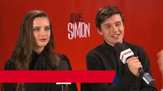 LOVE SIMON CAST