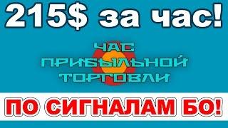 Торговля бинарными опционами по сигналам ТС PereTika
