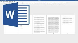 How to insert Page Number in Word from specific page ¦ Page numbers in Word