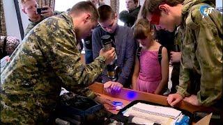 Новгородские школьники вникли в азы профессионального мастерства следователей