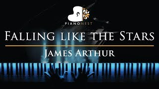 James Arthur Falling Like The Stars Piano Karaoke Sing Along Cover With Lyrics