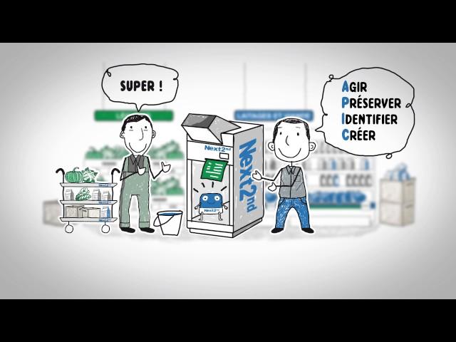 Vidéo explicative animée économie circulaire