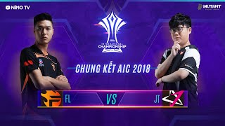 TEAM FLASH vs JTEAM - Chung Kết AIC 2018 - Garena Liên Quân Mobile