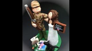 Rednecks Wedding Cake Topper
