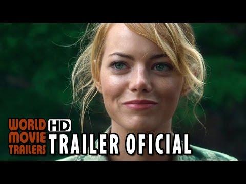 SOB O MESMO CÉU Trailer Oficial Legendado (2015) - Bradley Cooper, Emma Stone HD